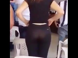 Candid Amazing Ass In Leggins