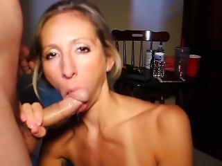 Sloppy Blowjob, Gag, Deepthroat, Swallow - Cheating Cumslut Natalia Aleksei