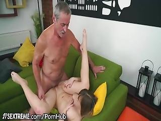 21sextreme Grandpa Sticks In In Little Blonde Teen