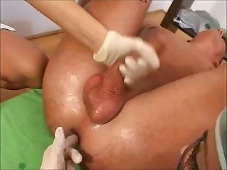 Prostate Clinic - One Patient And Two Nurses