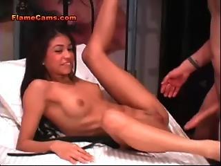 Latina Teen Fucked With Big Cock