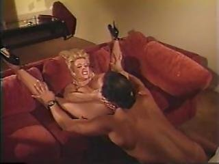 Blonde With Huge Boobs Does Anal