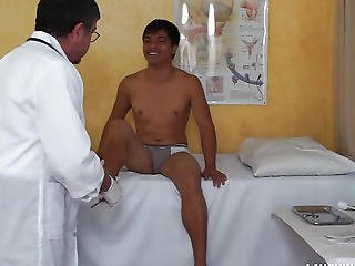 Oriental Guy Vahn Receives Ticklish Physical