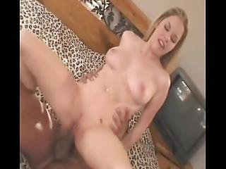 Dirty Amateur Blonde Teen Has Her First Big Black Cock And Eats A Load