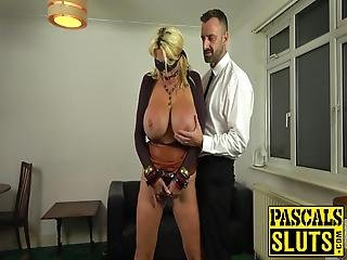 For This Occasion Huge Boobs Blonde, Shannon Boobs, Gets Spit, Cum, And Severe Punishment Throat Fucked Babe Combines Deepthroat With Anal!