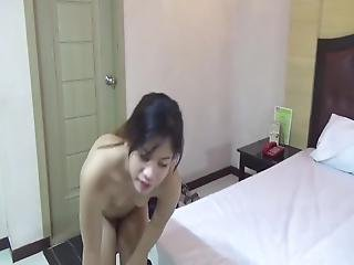 Filipina Amateur Loves Being Bent Over On Her Knees Wither Taking Cock In Her Mouth Or In Her From Behind