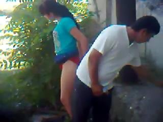 Nepali College Girl Outdoor Fucked By Lover Leaked