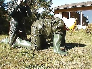 Sex In Rainwear And Rubber Boots