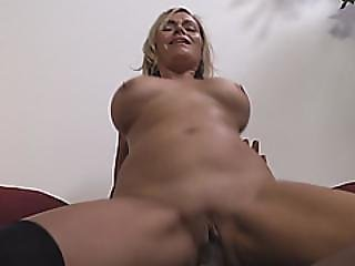 Office Milf Gets Her Pussy Destroyed By A Black Dick