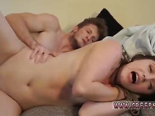 Angelina-blonde Russian Teen Fucked In The Ass And Old Man Mature