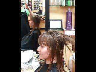 cheveux châtains, fétiche