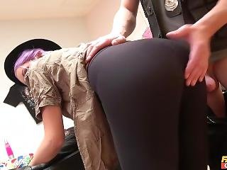 Lili Parker Blowjob And Spanked