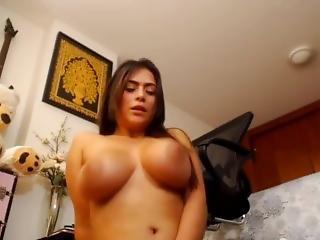 kotě, velké dudy, brunety, špinavé, hardcore, jihoameričanka, masturbace, pov, děvka, solo, squirt