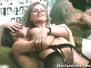 Beautiful Retro Blonde Fucked