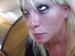 Danish Blonde Throatfucked