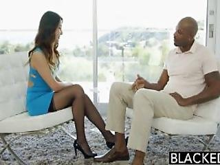 Tight Asian Babe Jade Luv Screams On Massive Black Cock