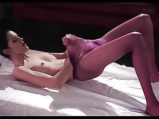Girl Jerking Dreams Of Dick