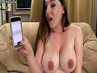 Can You Cum In 20 Seconds Kinky Kristi Big Tits Jerk Off Instruction Joi Fetish
