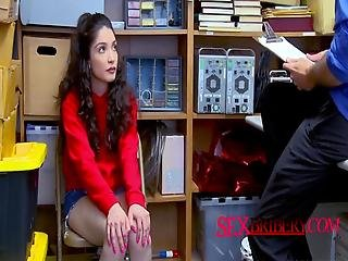 Jericha Confesses Her Crimes As Officer Subdues Her Into Taking His Cock
