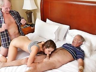 Blue Pill Men - Old Man Gets His Dick Wet With Young Escort Naomi Alice