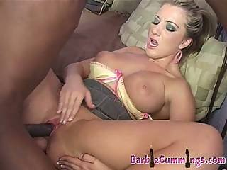 Nasty Big Tits Blonde Down For Unbelievable Black Dick