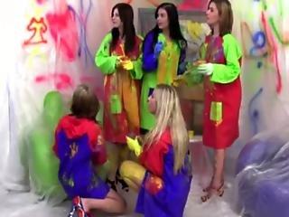 Cfnm Femdom Babes Undressing Art Teacher