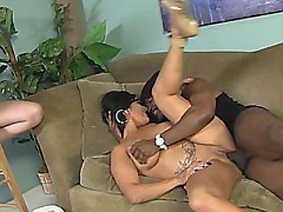 Summer Rae And Sammy Brooks Suck Monster Black Cock And Get Fucked