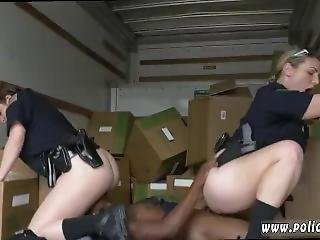 Milking Table Blonde Black Suspect Taken On A Raunchy Ride