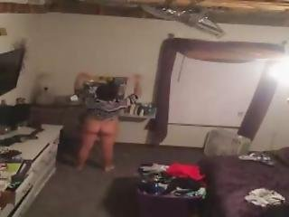 Peeping A Naked Teen Girl In Her Own Apartment