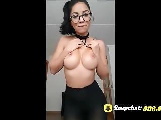 Hot Asian Teen Fingering On Snapchat