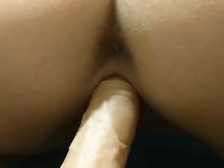 Orgasm On New Toy