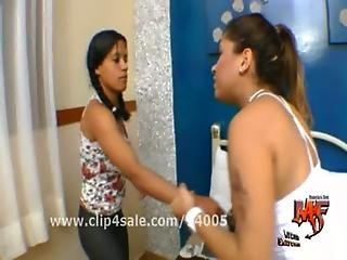 Beautiful Brazilian Girl Fucking and Sitting on Girl s Face
