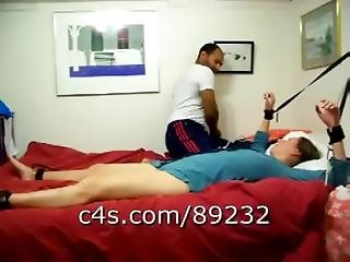 Arte, Bondage, Atada, Casal, Preliminares, Interracial, Sexo, Atada