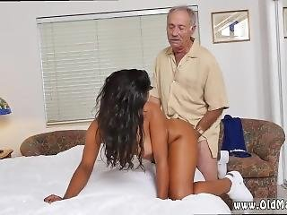 Old Sexy Granny And Old Mom Young Friend And Young Girl With Virgin Old