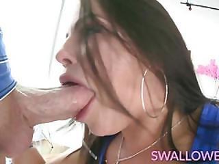 Swallowed Adriana, Megan And Lana Threeway Deepthroating