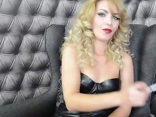 Jessieried - Livejasmin - Smoking Latex Fetish Part 1