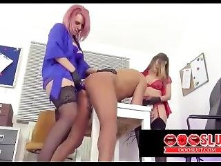 Man Getting Fucked By Milfs - Oooslut.com