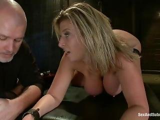 dikke tiet, bondage, fetish, hardcore, ruw, sex
