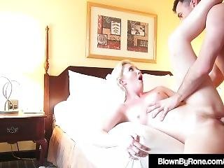 Hot Young Samantha Rone Is Crammed In Her Cunt By James Deen