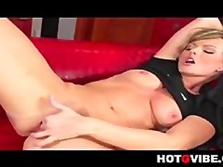 Masturbating Sandra Sanchez