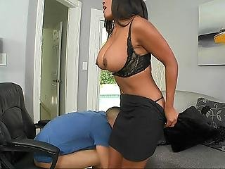 At Work, Big Tit, Brunette, Fucking, Hardcore, Milf, Office, Sex, Tanned, Workplace
