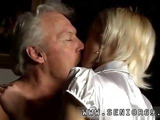 Old Man And Girl Licks Old Mans Ass First Time But Anita Comes Up With A