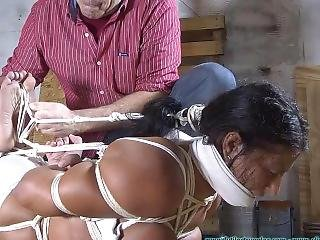 Bondage Challenge With Some Good Gagged Tickling!
