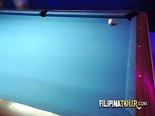 Phaedra Gets Some Hot Action When Tourist Invites Her To Play Pool