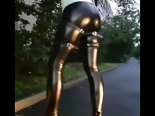 Leather Fetish Girl