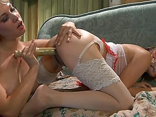 Kitty Natali Nylon Lesbian Sex Video