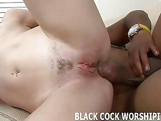 Bdsm, Big Black Cock, Black, Ebony, Femdom, Interracial, Old, Spit