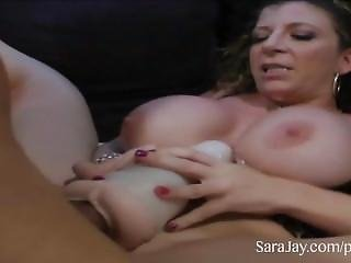 Sara Jay And Her Fleshlight Fucker