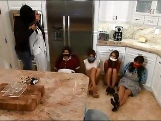 4 Girl Gagged