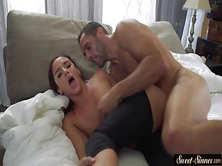 Pussy Licked Milf Spreads Her Legs For Cock